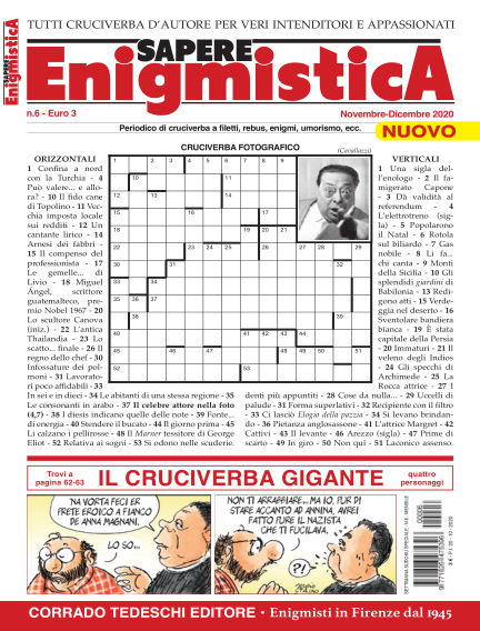 Giochi Logici ed Enigmistica October 20, 2020 00:00