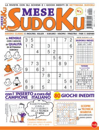 Settimana sudoku mese 26