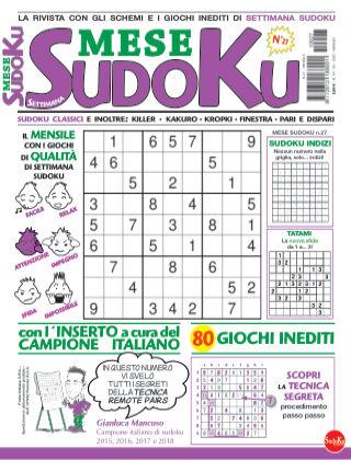Settimana sudoku mese 27
