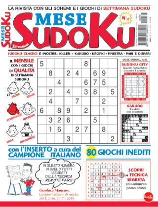 Settimana sudoku mese 32
