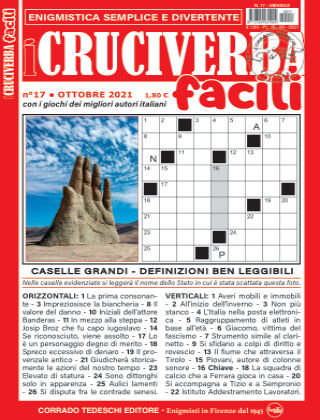 I Cruciverba Facili 17