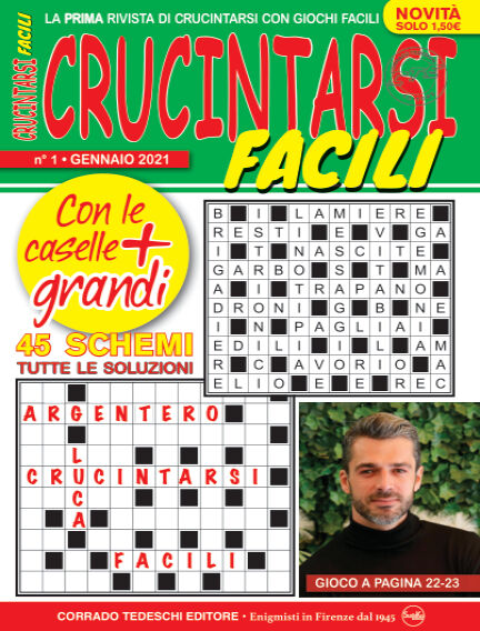 Crucintarsi Facili December 15, 2020 00:00