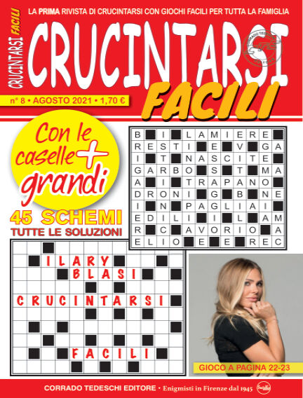 Crucintarsi Facili July 30, 2021 00:00
