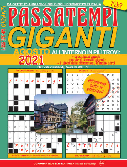 Passatempi Giganti August 05, 2021 00:00