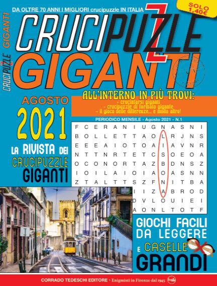 Crucipuzzle Giganti August 03, 2021 00:00