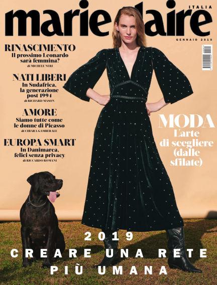 MARIE CLAIRE Italia December 15, 2018 00:00