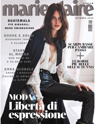 MARIE CLAIRE Italia Ottobre-2019