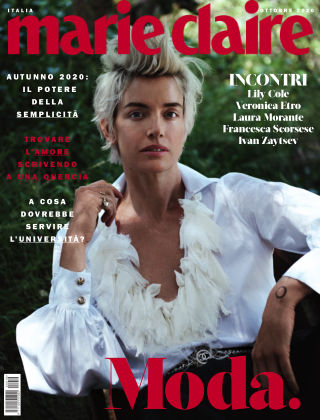MARIE CLAIRE Italia Ottobre-2020