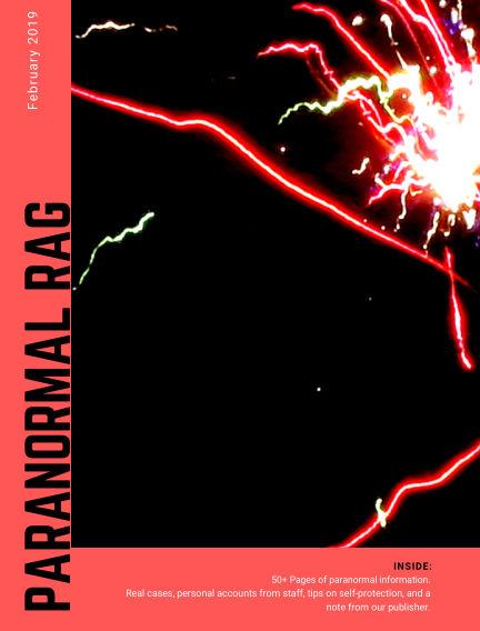 Paranormal Rag February 08, 2019 00:00