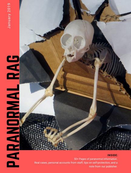 Paranormal Rag January 15, 2019 00:00