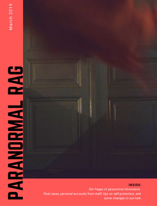 Paranormal Rag March 2019