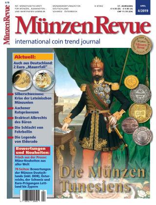 MünzenRevue 04/2019