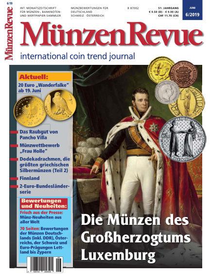 MünzenRevue May 25, 2019 00:00