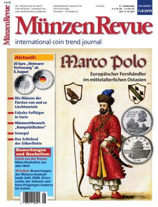 MünzenRevue 7+8/2019