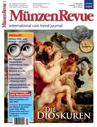 MünzenRevue 9/2019
