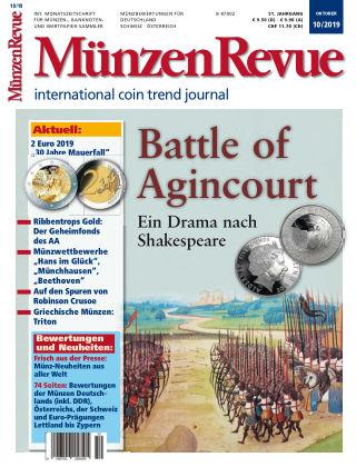 MünzenRevue 10/2019