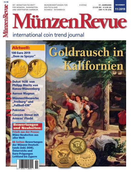 MünzenRevue October 30, 2019 00:00