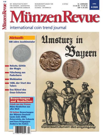 MünzenRevue March 21, 2020 00:00