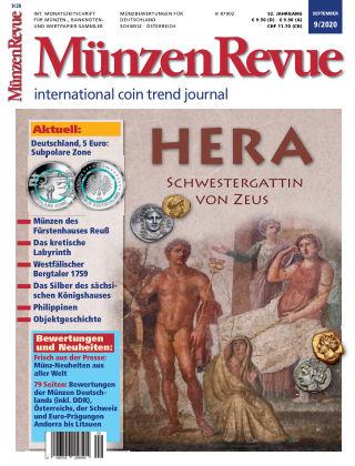 MünzenRevue 9/2020