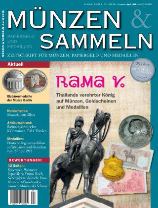 Münzen & Sammeln 04/2019