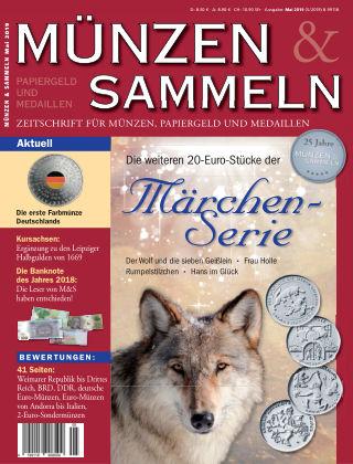 Münzen & Sammeln 5/2019