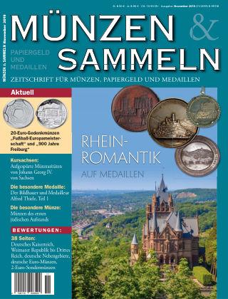 Münzen & Sammeln 11/2019