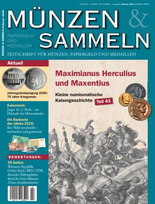 Münzen & Sammeln 2/2020