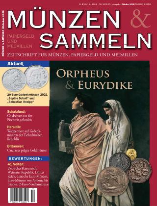 Münzen & Sammeln 10/2020