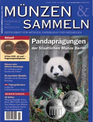 Münzen & Sammeln 11/2020