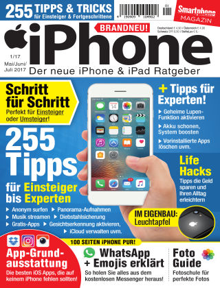 Smartphone Magazin Extra iPhone 1/2017