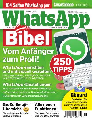 Smartphone Magazin Extra WhatsApp-Bibel 1/19