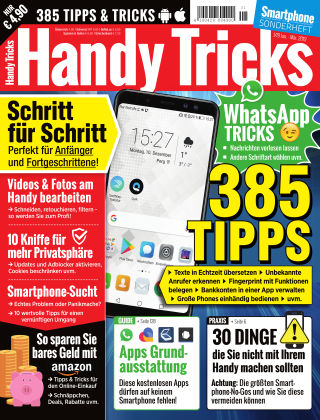 Smartphone Magazin Extra Handy Tricks 1/19