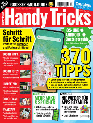 Smartphone Magazin Extra Handy Tricks 2/2019