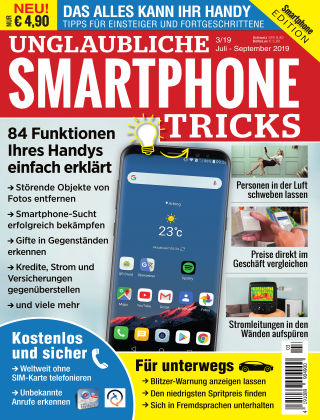 Smartphone Magazin Extra Handy Tricks 3/2019