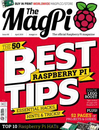 The MagPi magazine April 2019