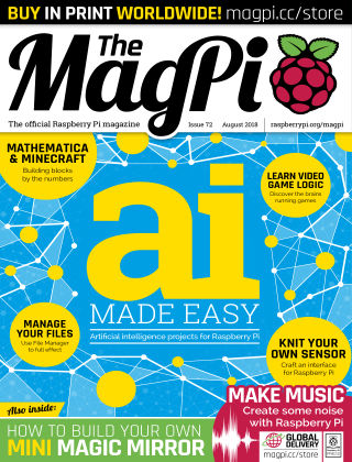 The MagPi magazine August 2018