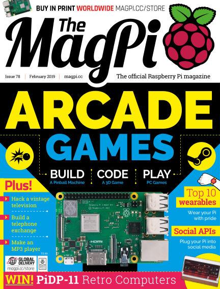 The MagPi magazine January 28, 2019 00:00