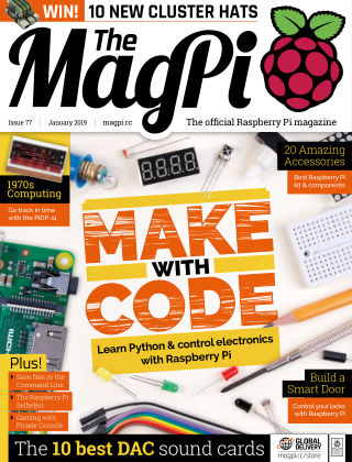 The MagPi magazine Jan 2019