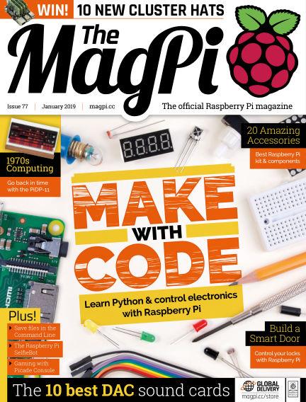 The MagPi magazine December 21, 2018 00:00