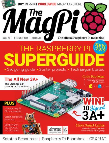 The MagPi magazine November 28, 2018 00:00