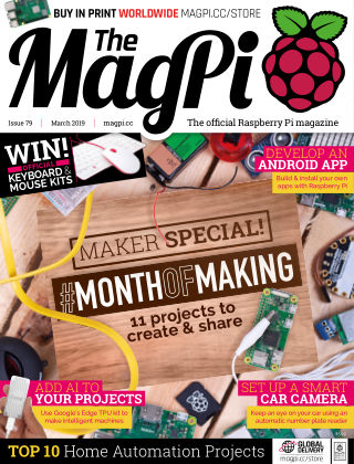 The MagPi magazine March 2019