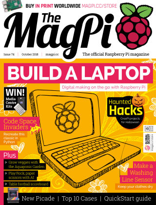 The MagPi magazine October 2018