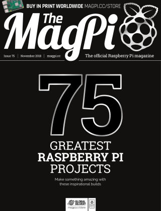 The MagPi magazine November 2018