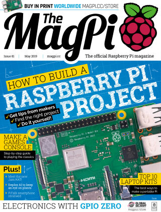 The MagPi magazine May2019