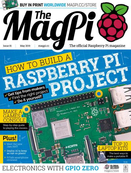 The MagPi magazine April 25, 2019 00:00