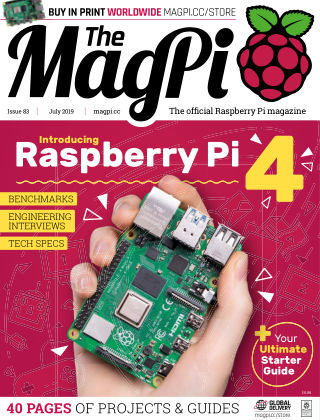 The MagPi magazine July2019