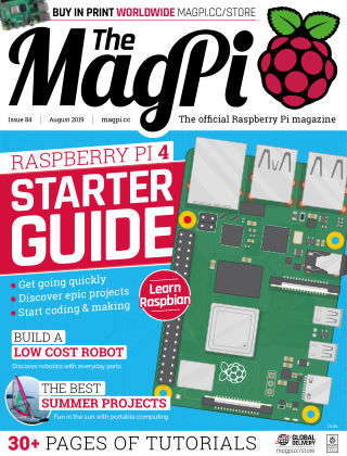The MagPi magazine August 2019