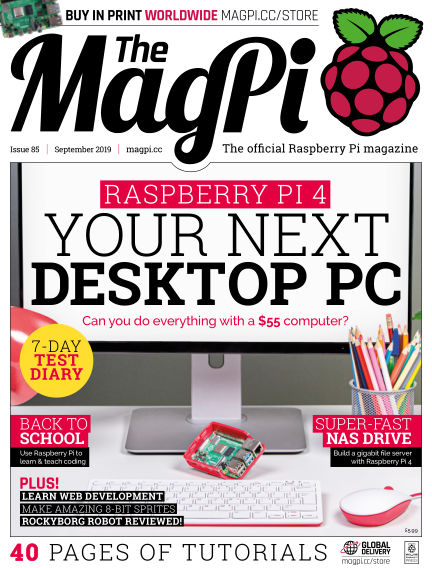 The MagPi magazine August 29, 2019 00:00