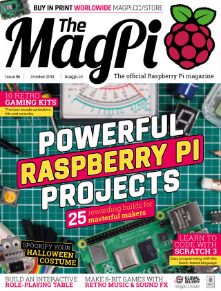 The MagPi magazine October2019