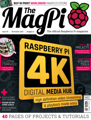 The MagPi magazine November2019